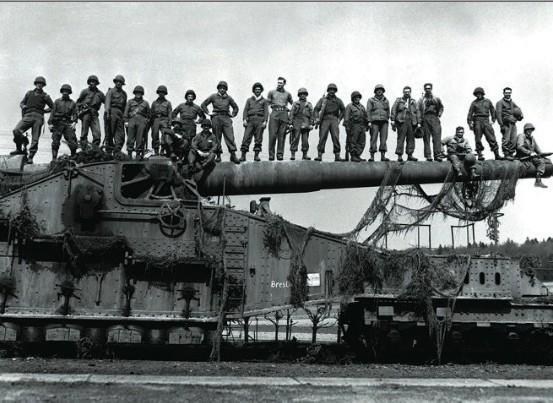 历史上打得最远的大炮 巴黎大炮