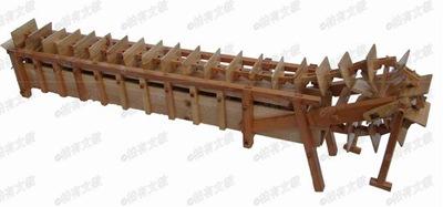 世界最早的水车马钧水车