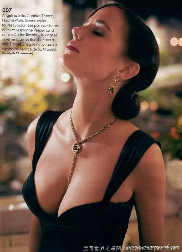 2017年度最美胸部,伊娃格林(好莱坞最神秘女星)