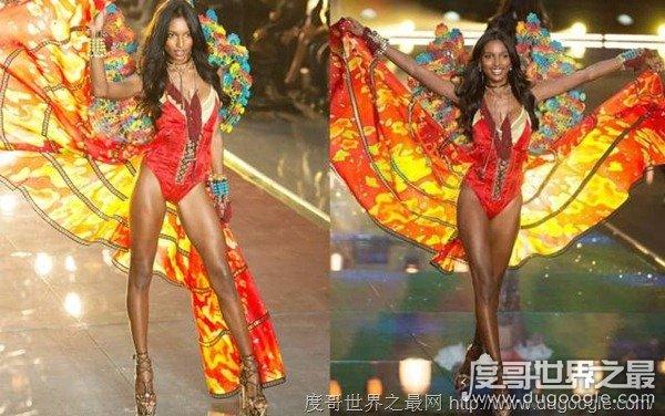 维密超模Jasmine Tookes个人资料,原来黑人模特可以这么美