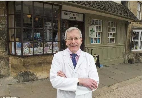 英国最古老药房已有282年历史