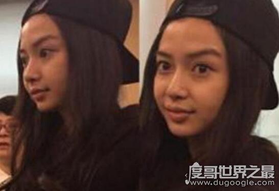 Angelababy杨颖整容前后照片对比,黄晓明都认不出