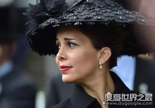 世界上最优秀的公主,哈雅公主颜值高(牛津硕士)