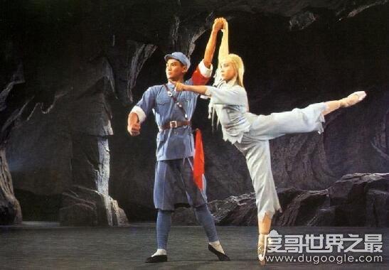 史上最经典白毛女扮演者,石钟琴年轻时照片惊艳