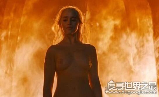 艾米莉亚·克拉克为什么叫龙妈,权力的游戏中裸戏