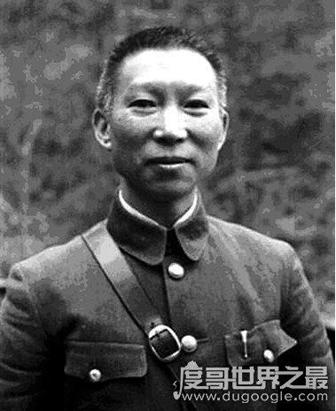 国民党高级将领排名前十,蒋介石第一带领冲锋