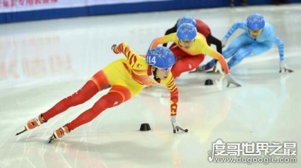 短道速滑武大靖破世界纪录,平昌冬奥1天2破世界最难纪录