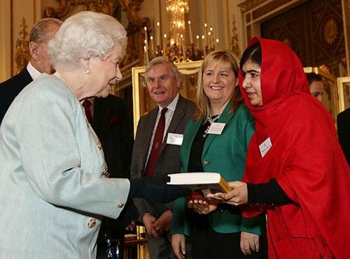 世界上最年轻诺贝尔和平奖得主