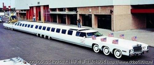 世界最长的汽车 超级牛B