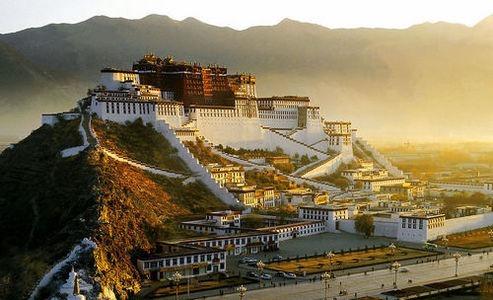 中国海拔最高的城市 拉萨