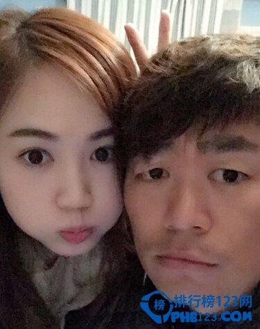 王宝强和老婆马蓉合照