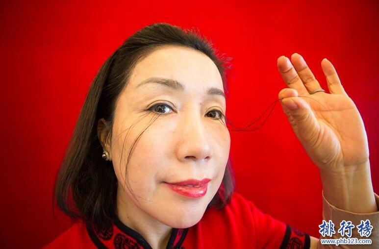 世界上最长的眼睫毛:逆天12.4厘米打破吉尼斯纪录