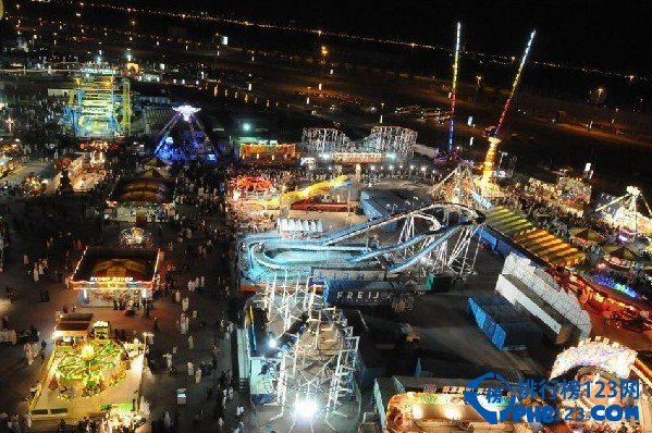 全球面积最大的游乐园——迪拜乐园