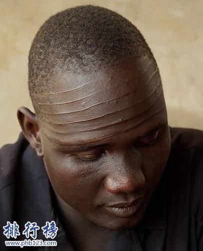 世界上最黑的男人:丁卡人,黑到看不见眼睛