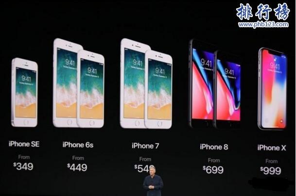 iPhoneX售价多少钱,iPhoneX各版本价格表