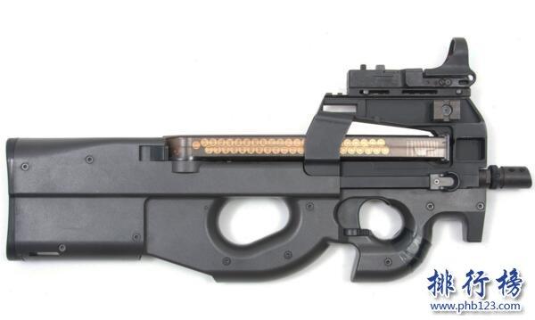 世界十大冲锋枪排名:MP5冲锋枪服役50年无人能敌