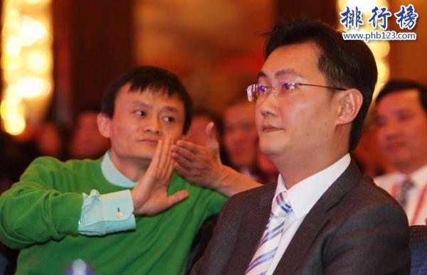 2017中国科技富豪排行榜:马云马化腾独居一档,丁磊超李彦宏第三