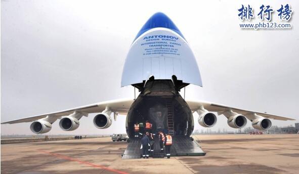 世界上最大飞机,安-225运输机长84米重175吨(货舱能装下一辆高铁)