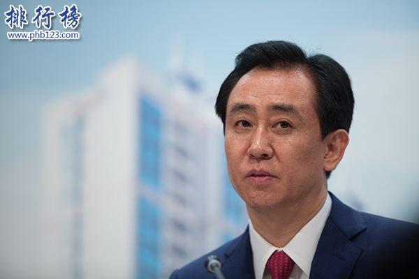2018中国房地产富豪排行榜:许家印2609亿元登顶,王建第二