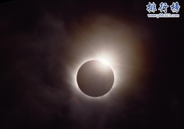 钻石环日全食是怎么形成的?盘点最壮观的日全食