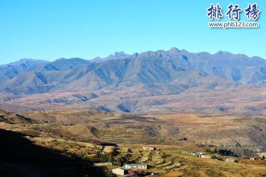 世界上海拔最高的国家,平均海拔都在千米以上的莱索托