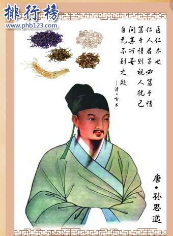 中国五大医学家:扁鹊排第一,李时珍是古代世界名人!