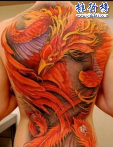纹身四大神兽图片:四大神兽之禁忌纹身图案