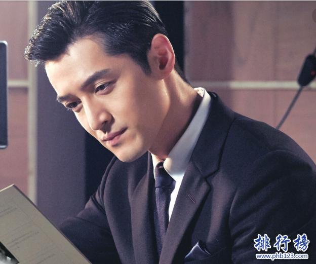 明星四大天王是哪四个:黄晓明排名第一最有爱心人气最高