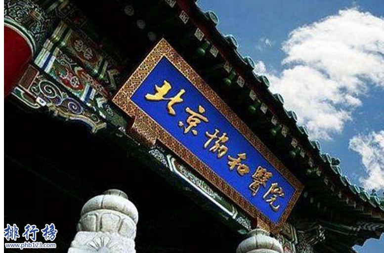 北京十大医院排名
