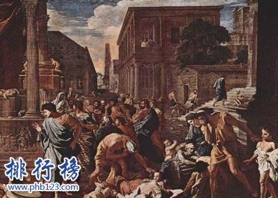 人类历史上的十大瘟疫