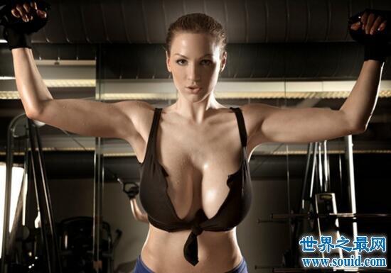 日本巨乳100人|巨乳小姐乔丹·卡佛,魔鬼身材M罩杯竟还玩拳击