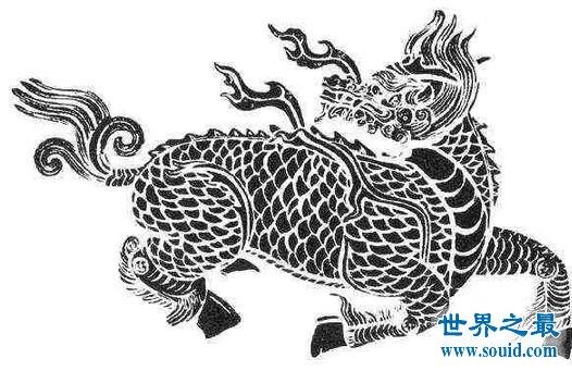 上古四大灵兽,白矖/腾蛇/白泽/麒麟
